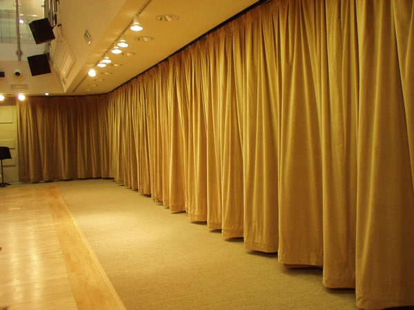 Curtains Ideas commercial curtains and drapes : Soundproof Curtains for Better Acoustics » Soundproofing Tips