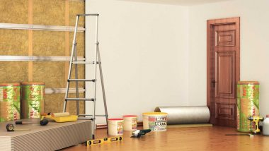 Remodeling a rooms walls with soundproofing