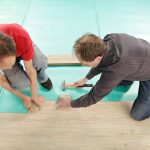 Installing Soundproofing Underlayment