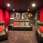 Home Theater Blackout Acoustic Curtains