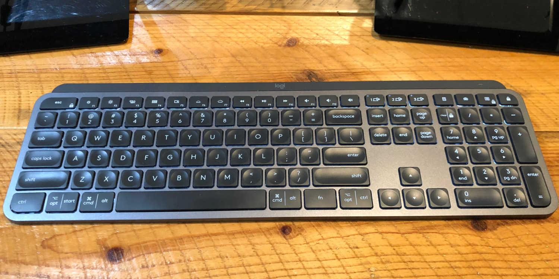 Logitech MX Keys - Best Quietest Keyboard
