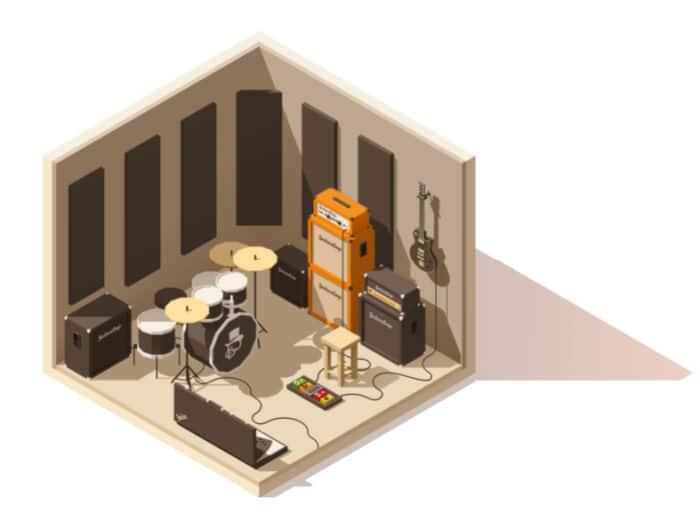 Corner Bass Trap Locations Studio Recording